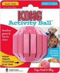 Kong Insert Treats To Extend Play Time Activity Ball Puppy