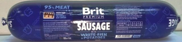 Brit Sausage With White Fish & Potatoes
