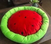 Canes Ventici Fruit Round Shape Bed