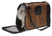 Travelling Carrier Bag Cheetah Print