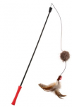 Gigwi Feather Teaser Catwand Plush Tail And TRP Handle