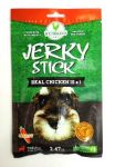 Wujibrand Real Chicken Jerky Stick - Carrot Flavour
