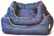 Canes Venatici Denim Lounger Sofa Bed