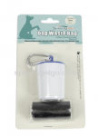 Speedy Pet waste Clean Up Bags With Holder (2 X 20 Pcs) - White