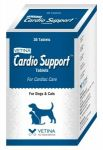 Vetina Cardio Support Cardiac Care Tablets For Dogs & Cats