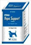 Vetina Hepa Support For Hepatic Care Tablets For Dogs & Cats