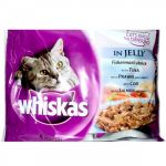 Whiskas In Jelly Multi Pouches (4 in 1)