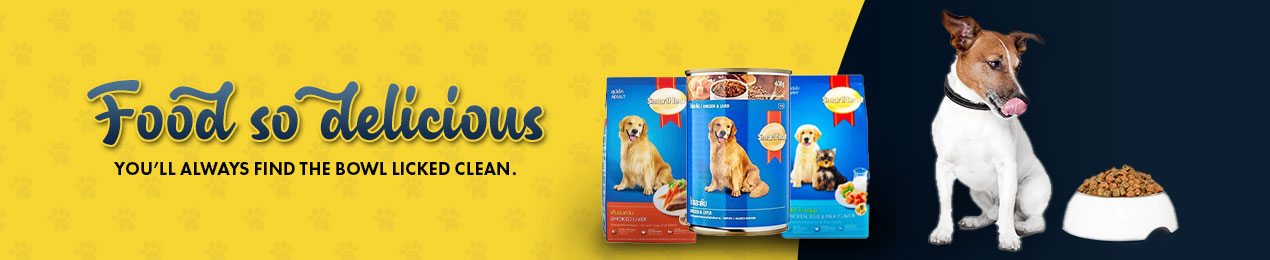 Here's a range of dog food that ensures nutrition without compromising on taste or burning a hole in your pocket